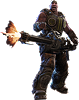 Gears of War 3: Cole Wall Decal