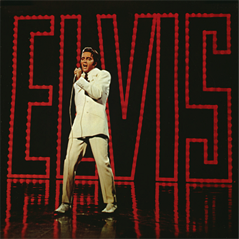 Elvis Presley - '68 Comeback Spcial Album Cover Wall Decal