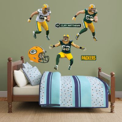 Clay Matthews Hero Pack Fathead Wall Decal