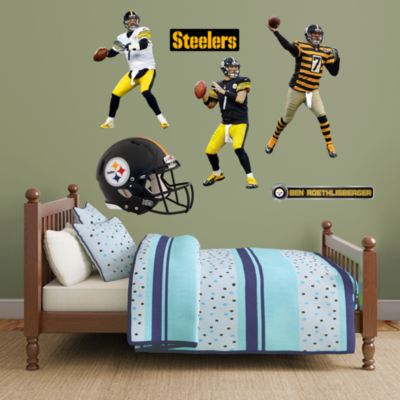 Ben Roethlisberger Hero Pack Fathead Wall Decal