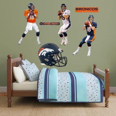 Peyton Manning Hero Pack Fathead Wall Decal