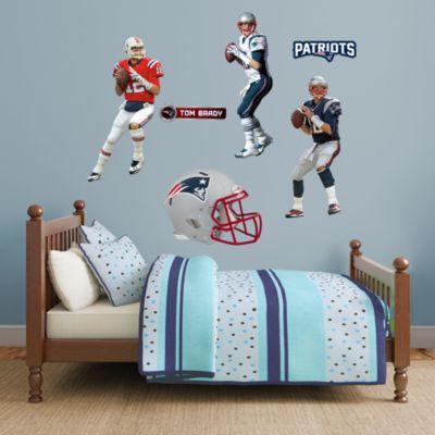 Tom Brady Hero Pack Fathead Wall Decal