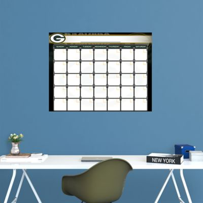 Green Bay Packers 1 Month Dry Erase Calendar