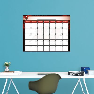 Tampa Bay Buccaneers 1 Month Dry Erase Calendar
