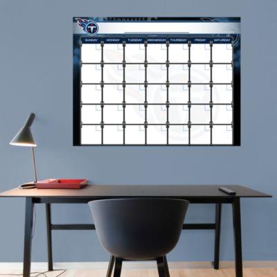 Tennessee Titans 1 Month Dry Erase Calendar