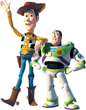 Woody and Buzz - Fathead Junior Wall Decal
