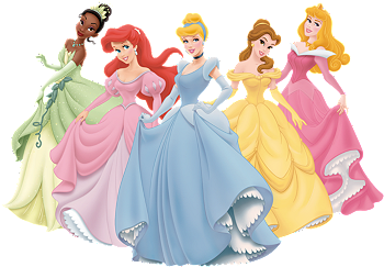 Disney Princess Collection - Fathead Jr. Wall Decal