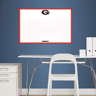 Georgia Bulldogs Dry Erase Board