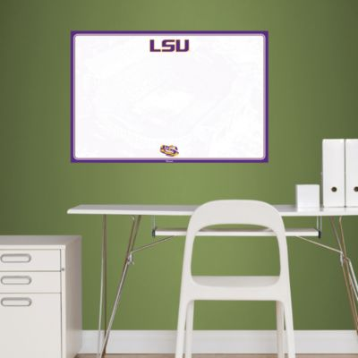 LSU Tigers Dry Erase Board Fathead Wall Decal