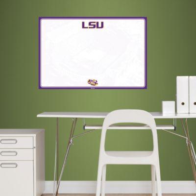 LSU Tigers Dry Erase Board Fathead Wall Decal
