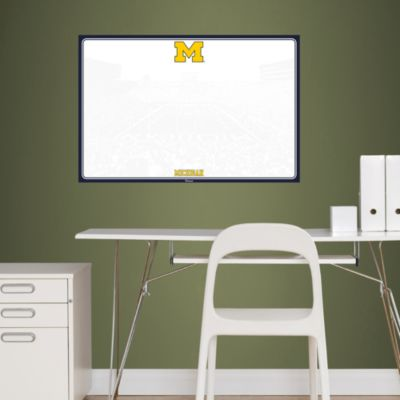Michigan Wolverines Dry Erase Board Fathead Wall Decal