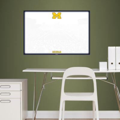 Michigan Wolverines Dry Erase Board Fathead Wall Decal