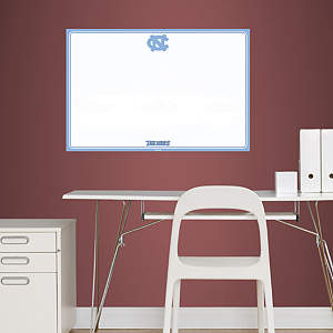 North Carolina Tar Heels Dry Erase Board Fathead Wall Decal