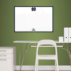 Notre Dame Fighting Irish Dry Erase Board Fathead Wall Decal