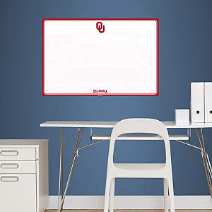 Oklahoma Sooners Dry Erase Board Fathead Wall Decal