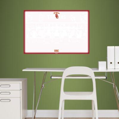 USC Trojans Dry Erase Board Fathead Wall Decal