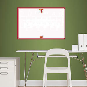 USC Trojans Dry Erase Board Fathead Wall Decal