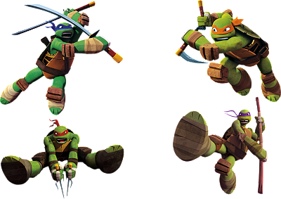 Teenage Mutant Ninja Turtles Collection Wall Decal