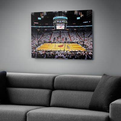 Miami Heat 2012 NBA Finals Stadium Canvas