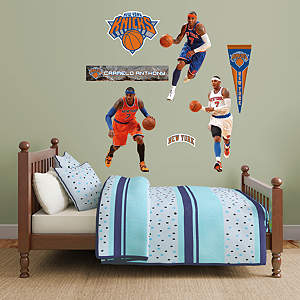 Carmelo Anthony Hero Pack Fathead Wall Decal