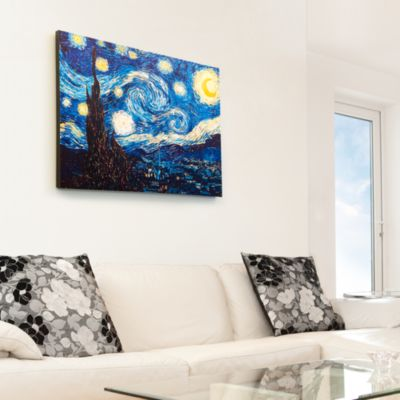 The Starry Night by Vincent van Gogh - Canvas Print