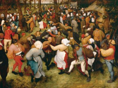 The Wedding Dance by Pieter Bruegel Fathead Wall Decal