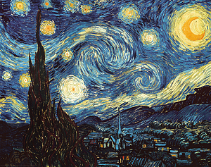 The Starry Night by Vincent van Gogh - Large Format Decal