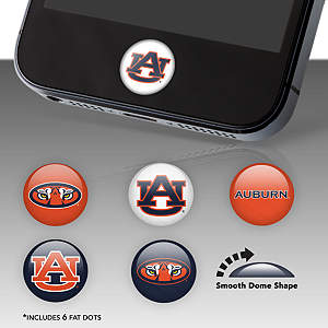 Auburn Tigers Fat Dots Stickers