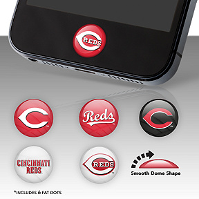 Cincinnati Reds Fat Dots Stickers
