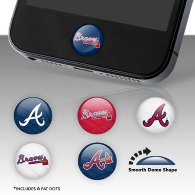 Atlanta Braves Fat Dots  Stickers