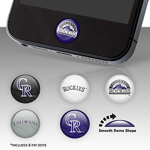 Colorado Rockies Fat Dots Stickers