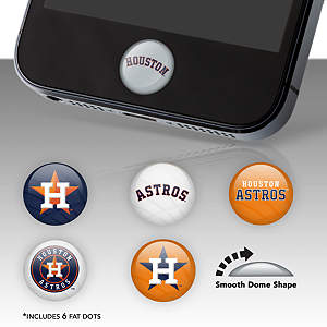Houston Astros Fat Dots Stickers