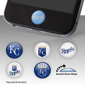 Kansas City Royals Fat Dots Stickers