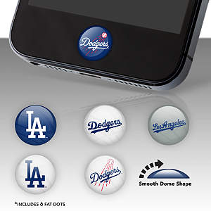 Los Angeles Dodgers Fat Dots Stickers