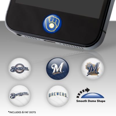 Milwaukee Brewers Fat Dots Stickers