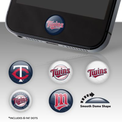 Minnesota Twins Fat Dots Stickers