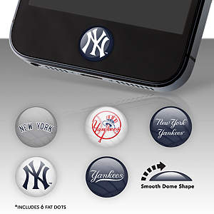 New York Yankees Fat Dots Stickers