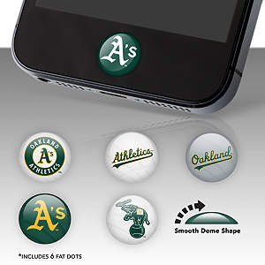 Oakland Athletics Fat Dots Stickers