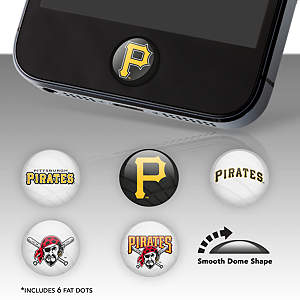 Pittsburgh Pirates Fat Dots Stickers