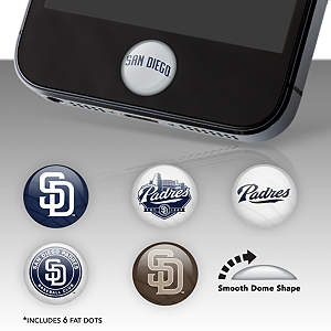 San Diego Padres Fat Dots Stickers