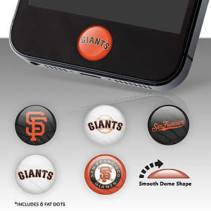 San Francisco Giants Fat Dots Stickers