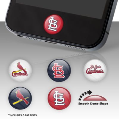 St. Louis Cardinals Fat Dots Stickers