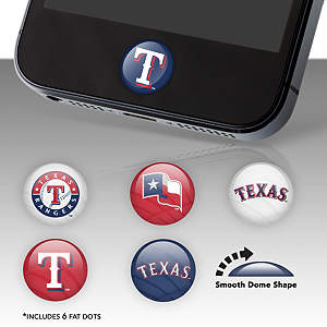 Texas Rangers Fat Dots Stickers