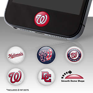 Washington Nationals Fat Dots Stickers