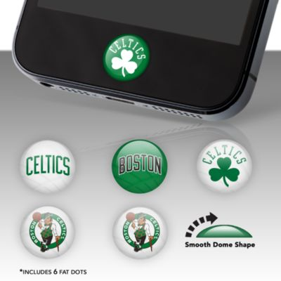 Boston Celtics Fat Dots Stickers