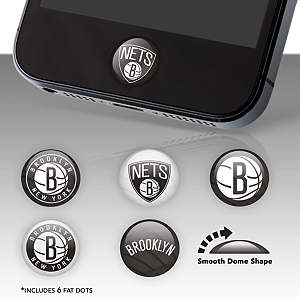 Brooklyn Nets Fat Dots Stickers