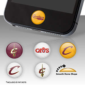 Cleveland Cavaliers Fat Dots Stickers