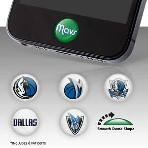 Dallas Mavericks Fat Dots Stickers