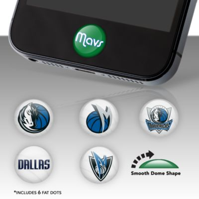 Dallas Mavericks Fat Dots Stickers