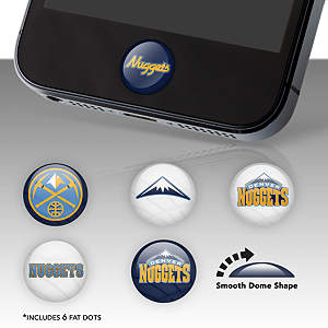 Denver Nuggets Fat Dots Stickers